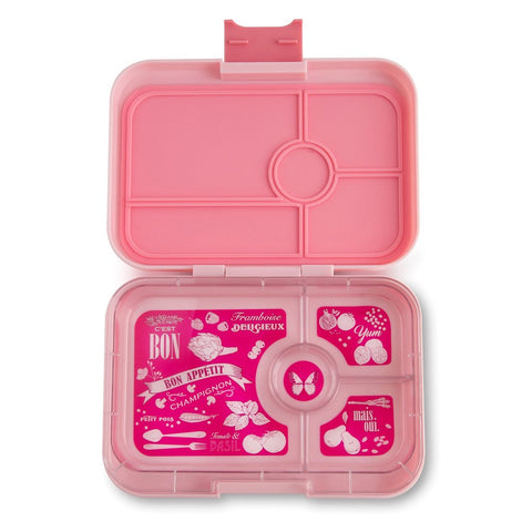 Yumbox Tapas-4 compartment- Amalfi Pink