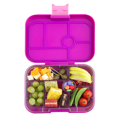 Yumbox Original- Bijoux Purple (6 compartments)