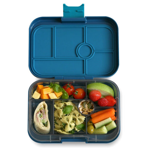 Yumbox Original- Empire Blue (6 compartment)