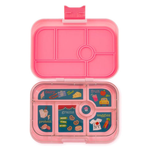 Yumbox Orignial- Gramercy Pink (6 Compartment)
