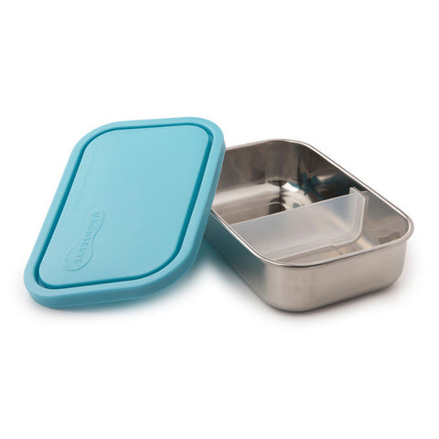 Kids Konserve Divided Rectangle Container - SKY
