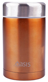 Oasis Food Flask- 450ml- Copper