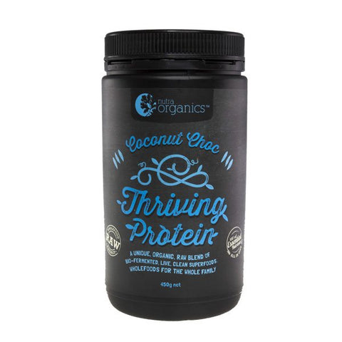 Nutra Organics- Thriving Protein- Coconut Choc 450g