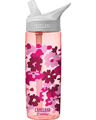 Water Bottle- 600ml- Floral camo