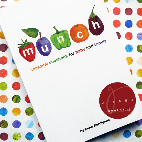 Munch Seasonal Cookbook For Baby