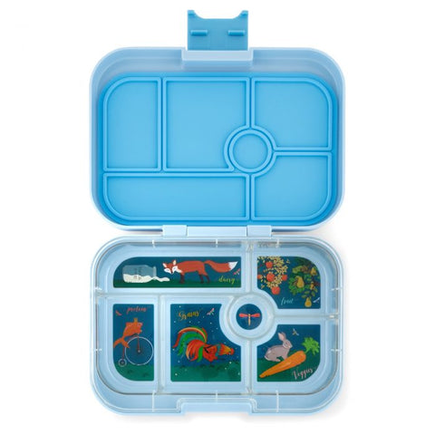 Yumbox Original- Luna Blue (6 compartment)