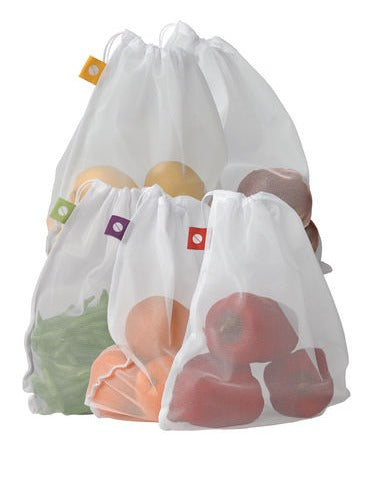 Reusable Mesh Produce bags (5 Pack)