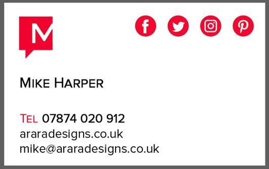 Bespoke business cards arara designs bespoke business cards reheart Choice Image