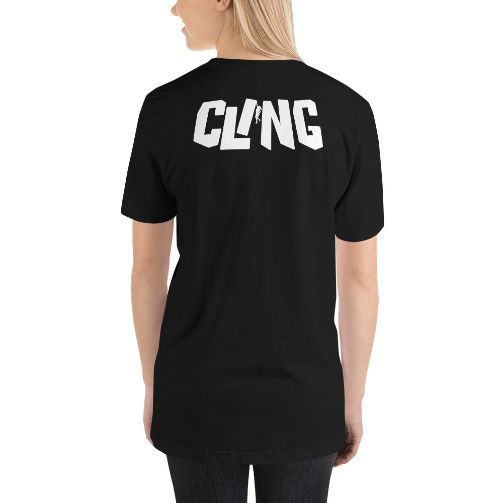 Cling Girl Short-Sleeve Unisex T-Shirt
