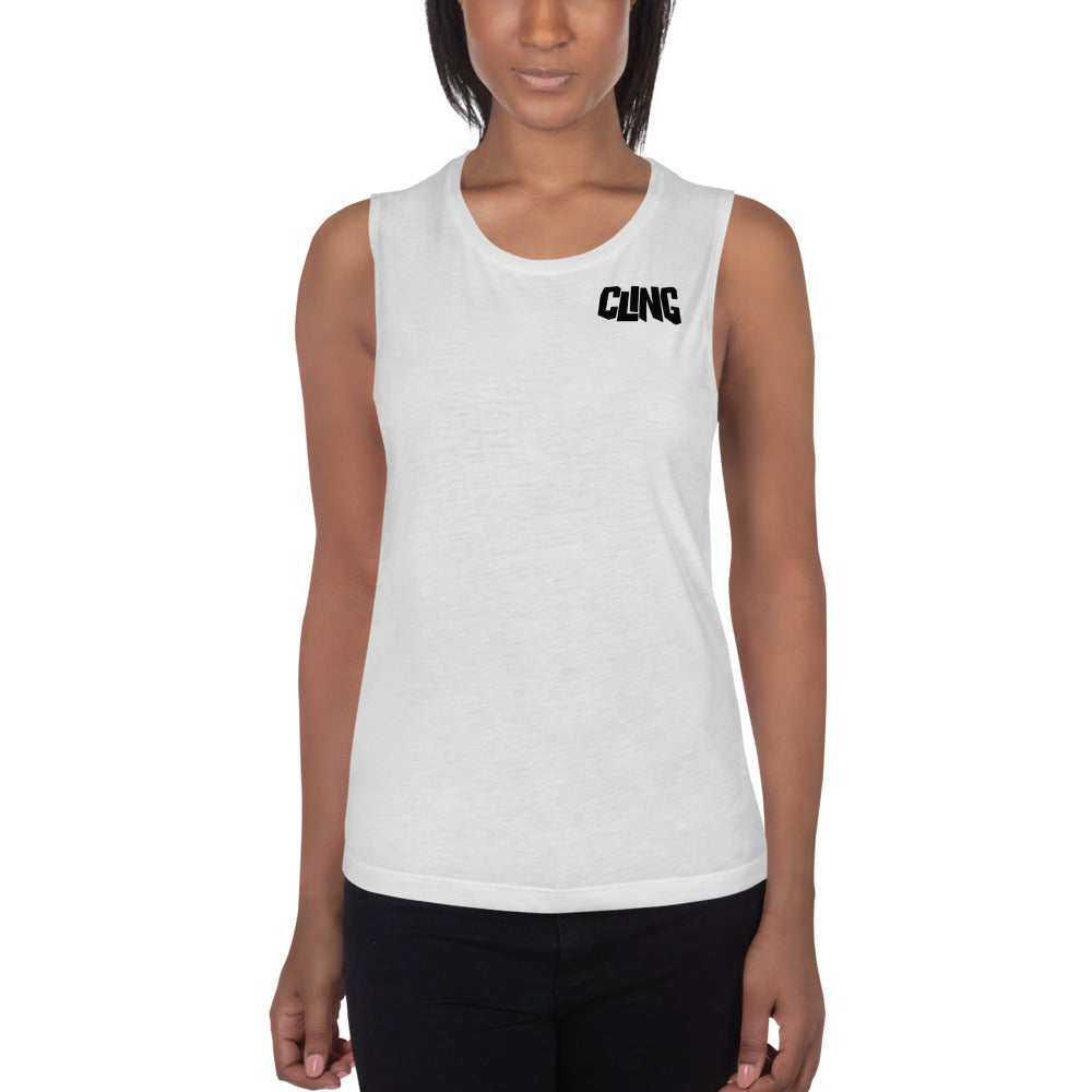 Cling Muscle Tank for Ladies