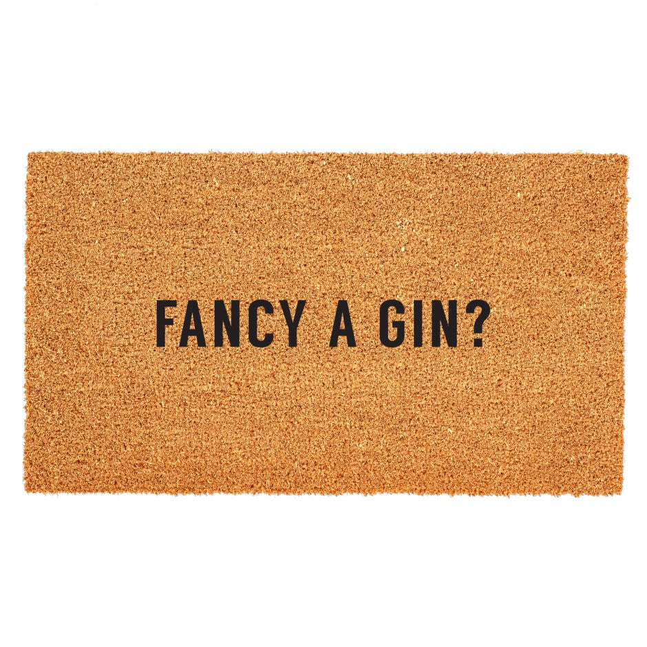 Door Mat - Fancy A Gin