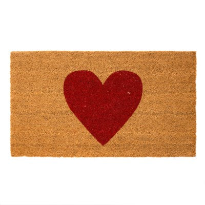 Door Mat - Heart