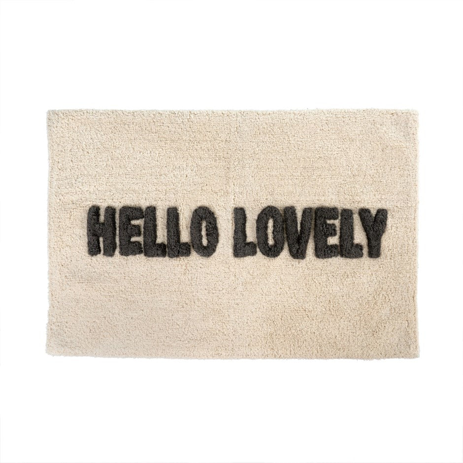 Hello Lovely Bath Mat
