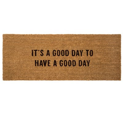 Door Mat - IT'S A GOOD DAY