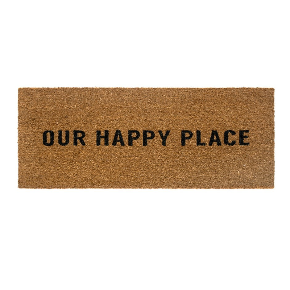 Door Mat - Our Happy Place