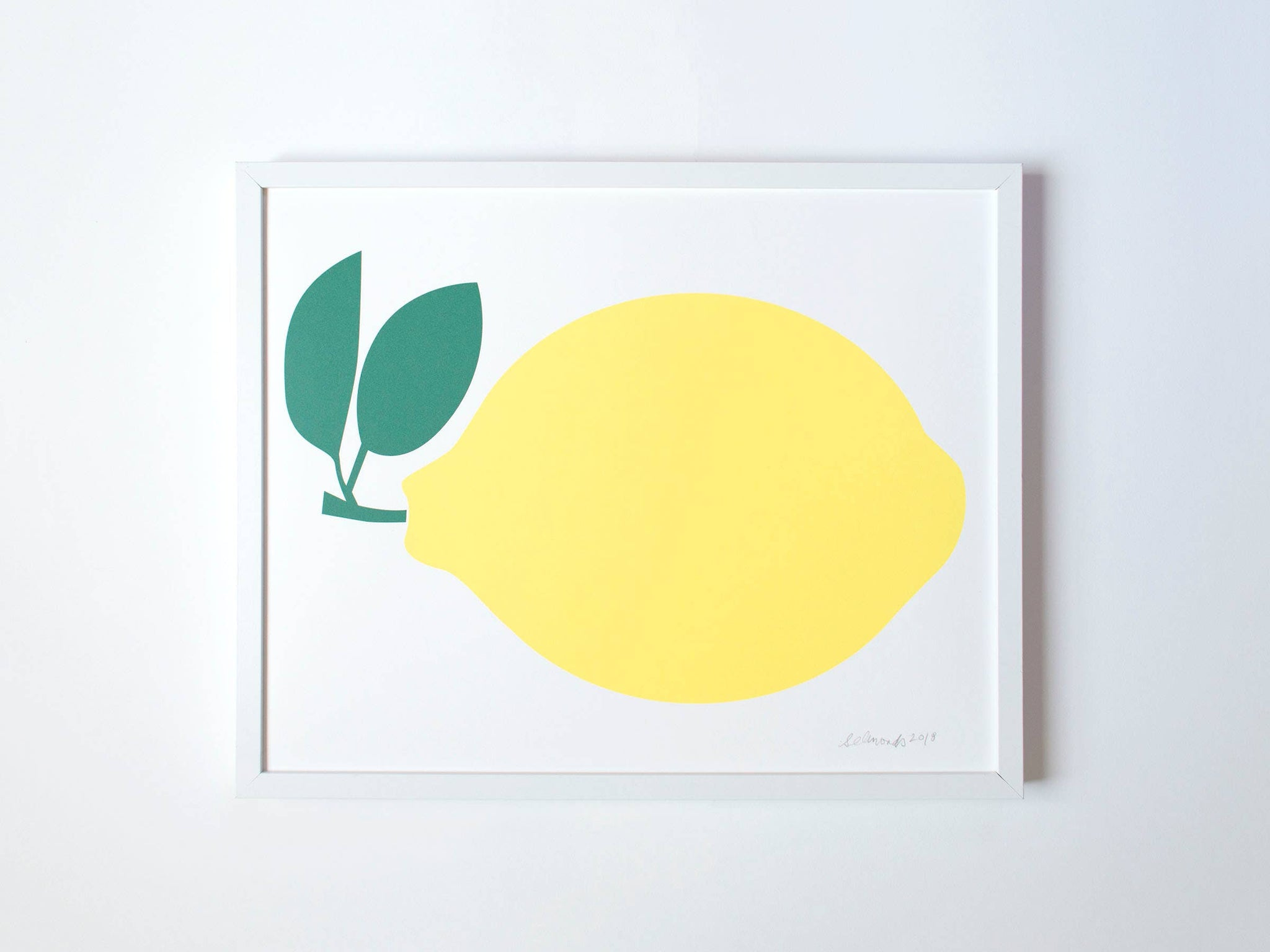 Art Print - A Lemon
