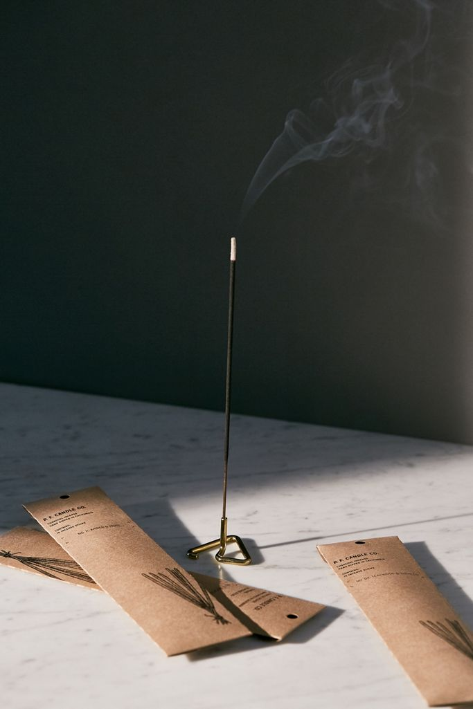 P.F. Candle Co. Teakwood & Tobacco Charcoal Incense