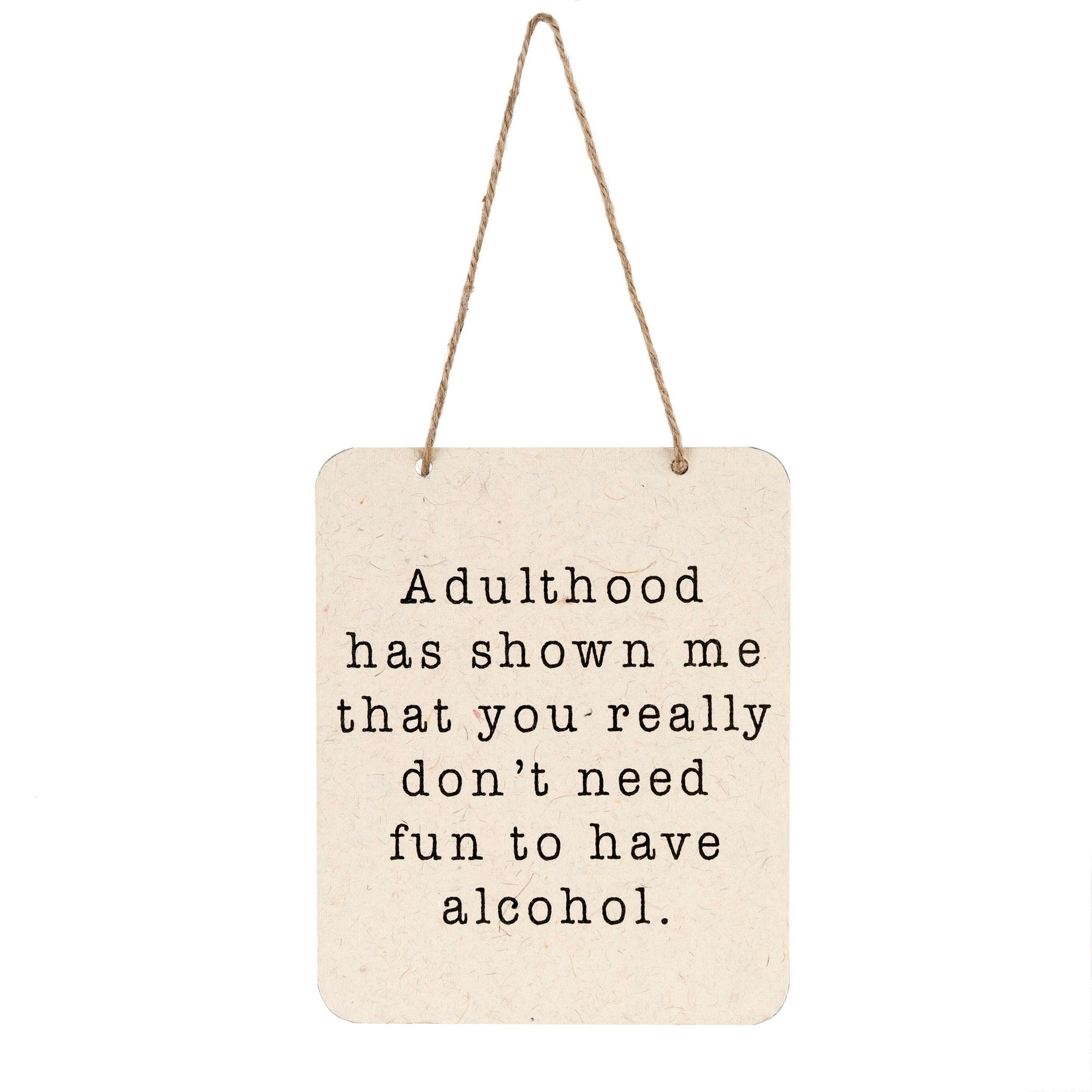 Sign - Adulthood