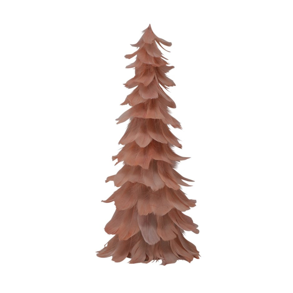 Christmas - PINK FEATHER TREE