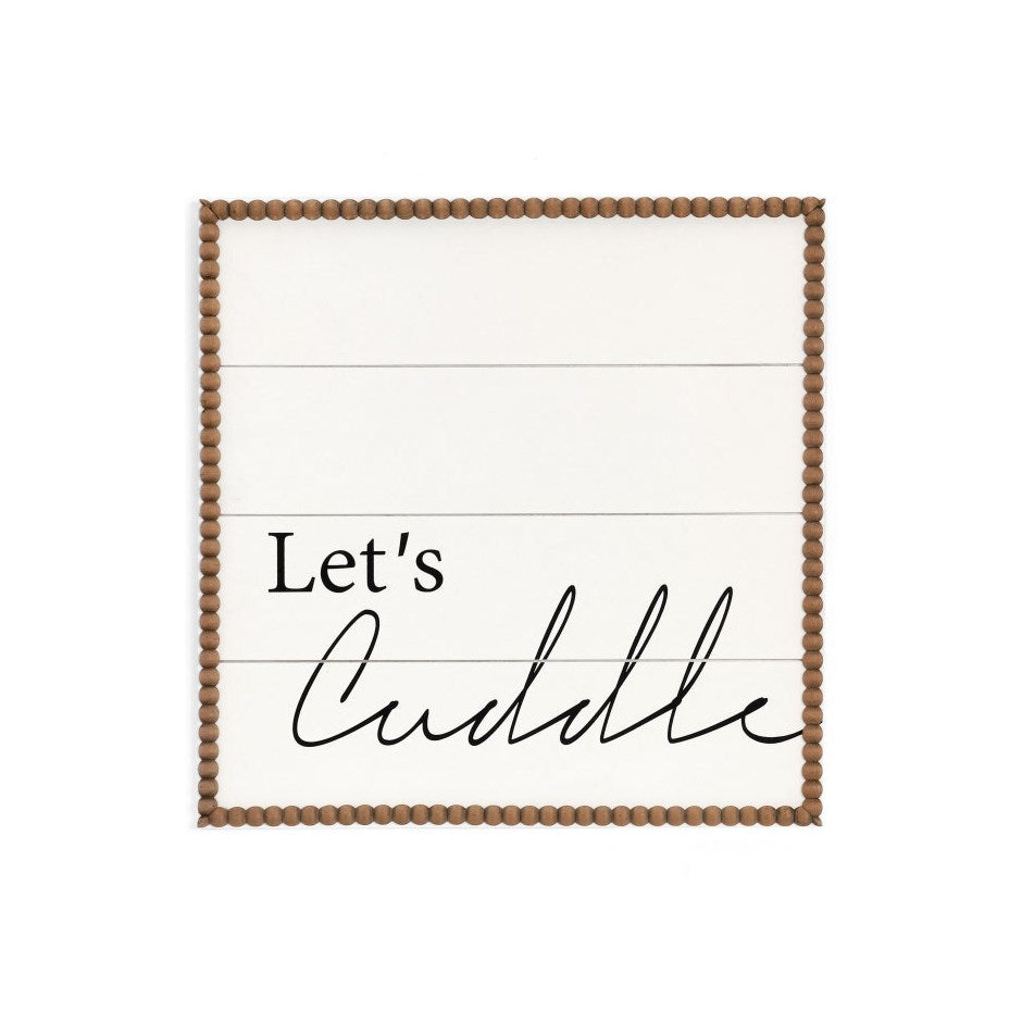 Sign - Let's Cuddle
