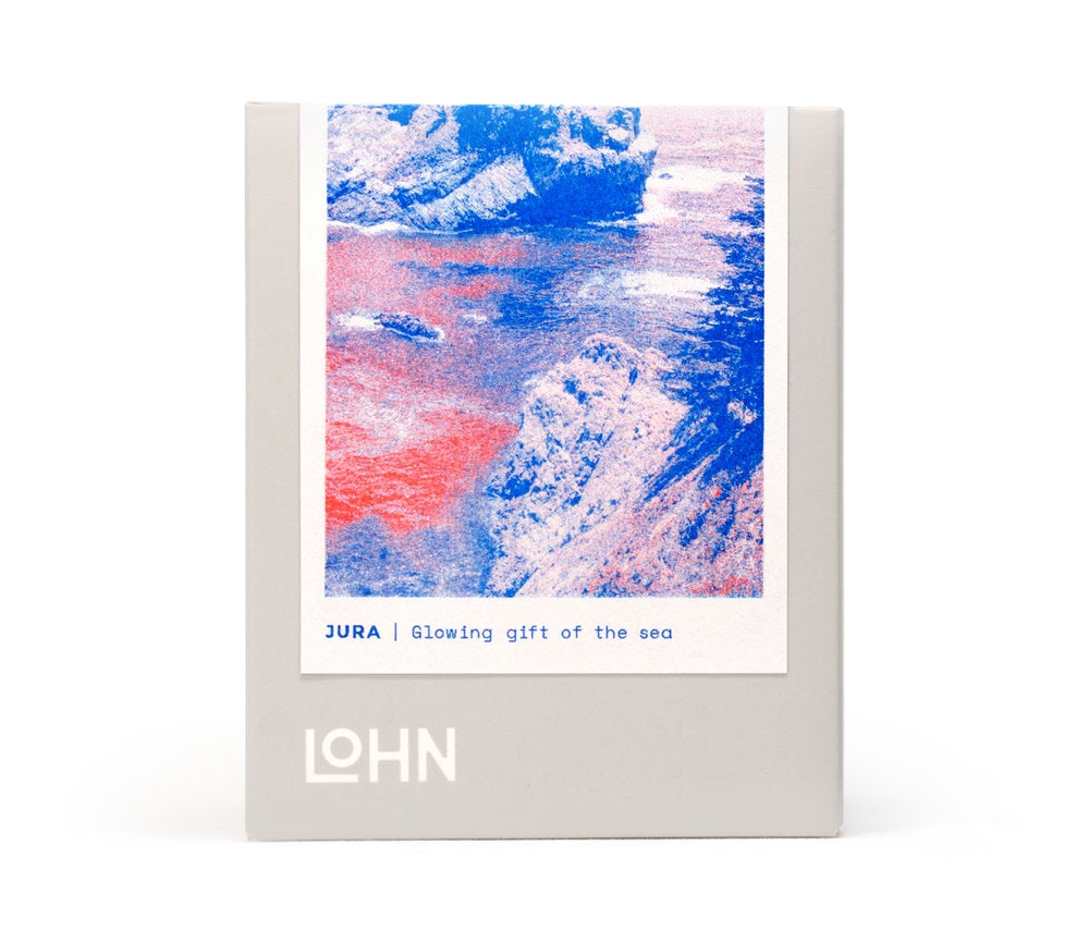 LOHN CANDLE - /jura/ from Lithuanian, meaning Sea