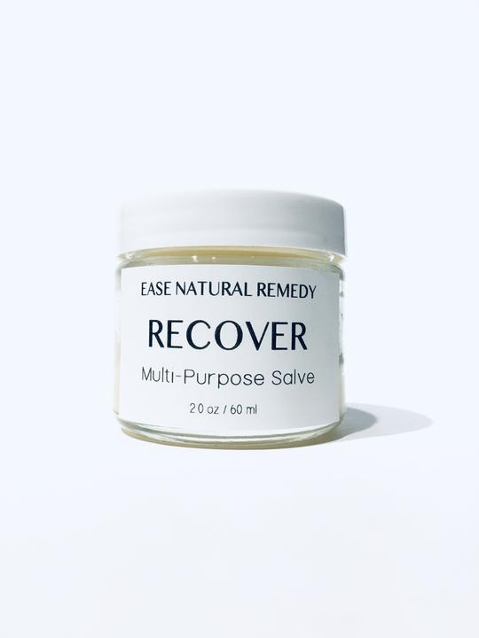 Ease Natural Remedy -RECOVER - 100% Organic Multi Purpose Salve (Lavender + Frankincense)