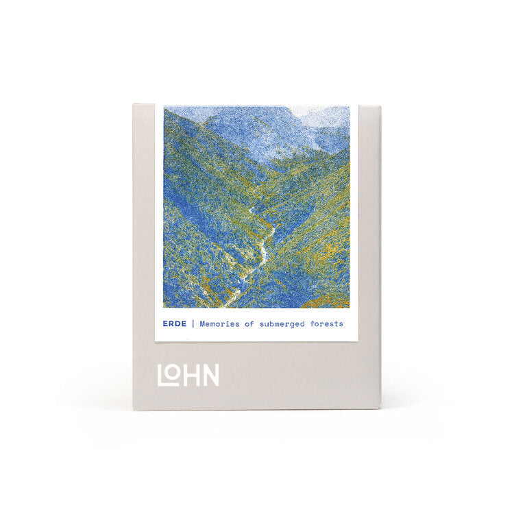 LOHN CANDLE - /erde/ from German, meaning Earth.