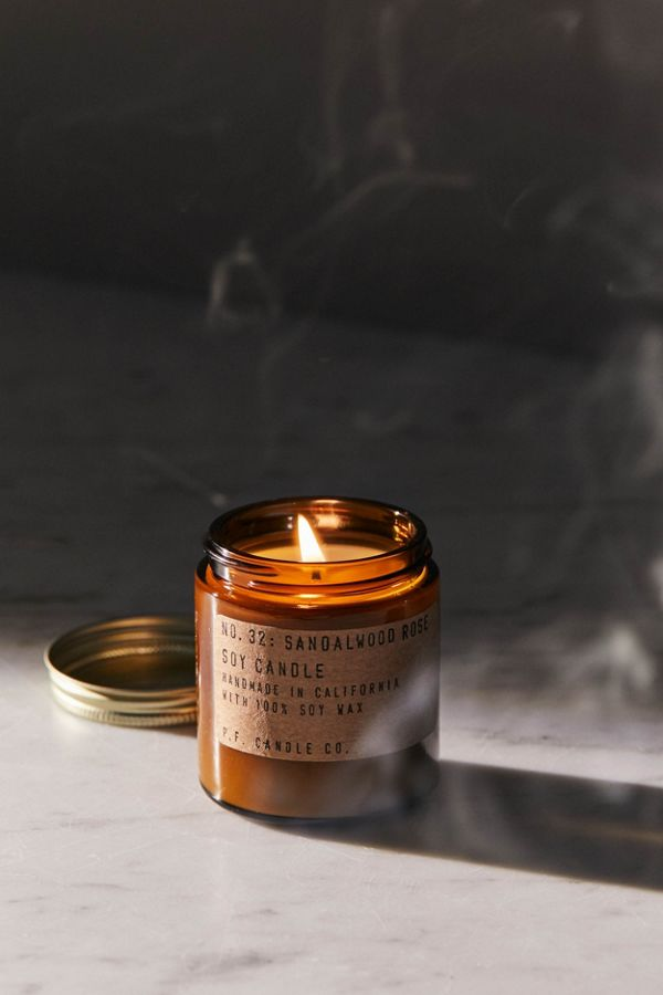 P.F. Candle Co - Sandalwood Rose Soy Candle