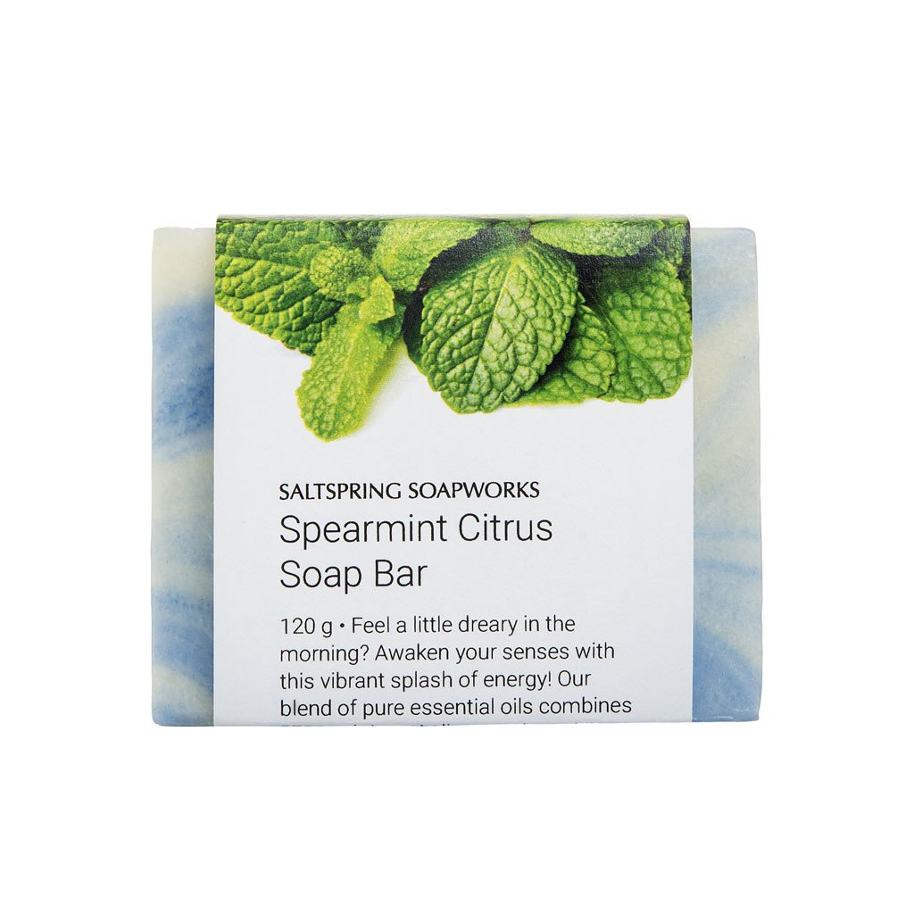 Saltspring Soapworks - Soap Bar Spearmint Citrus