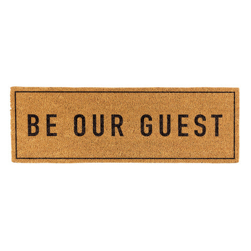 Door Mat -Be Our Guest