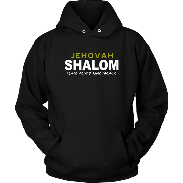 Jehovah Shalom — The Lord our Peace Unisex Hoodie