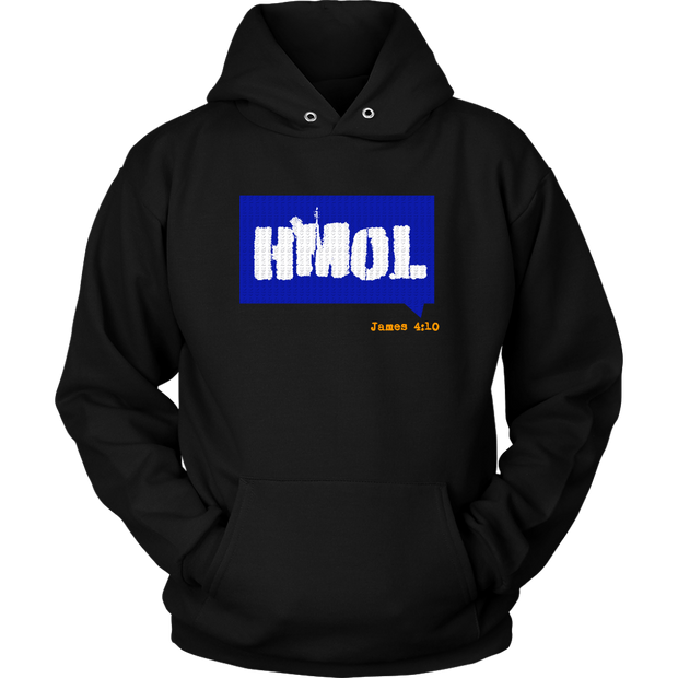 Humble Me Oh Lord — James 4:10 Unisex Hoodie