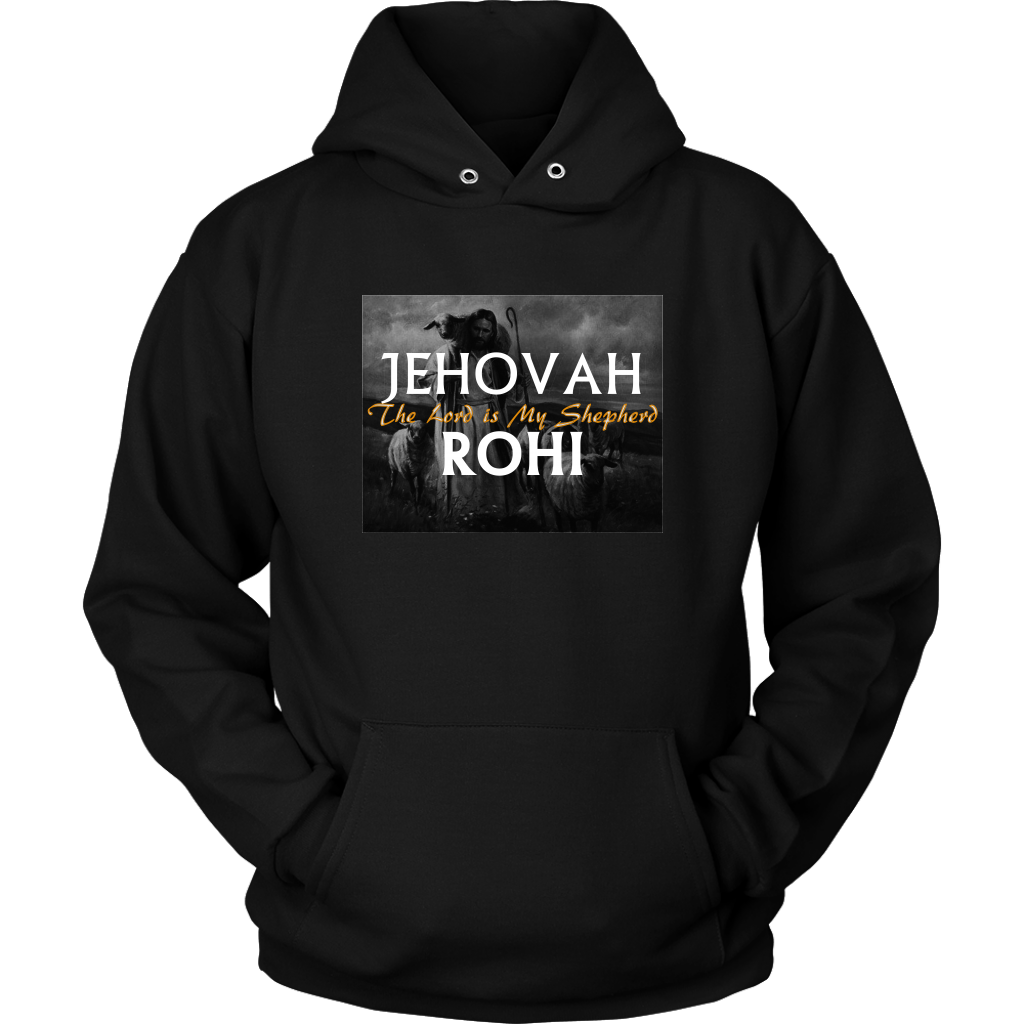 Jehovah Rohi —The Lord is My Shepherd Mens Long Sleeve T-Shirt