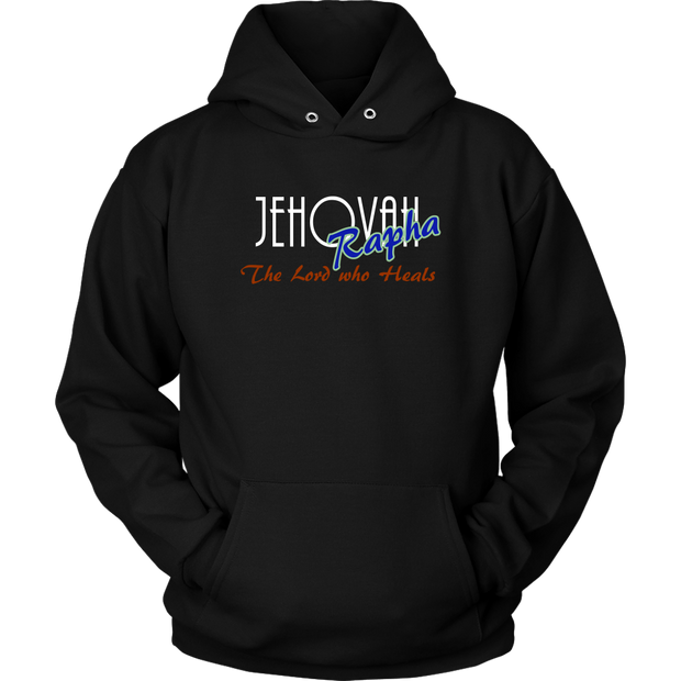 Jahovah Rapha — The Lord Who Heals Unisex Hoodie