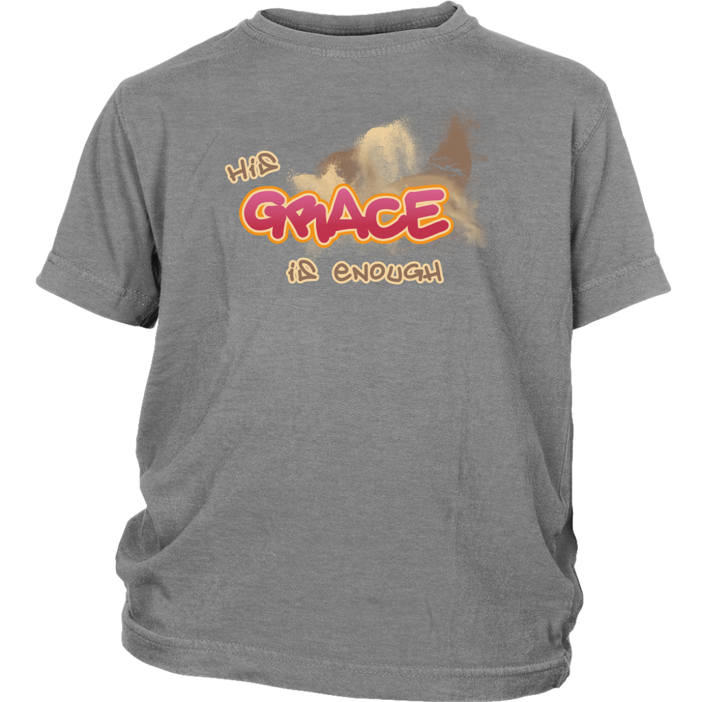 HIS Grace is Enough Youth T-Shirt