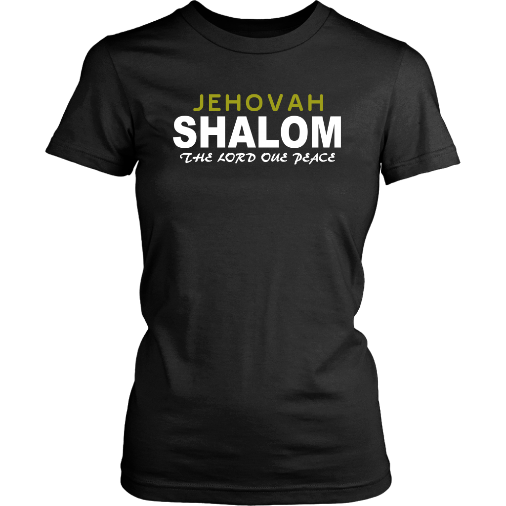 Jehovah Shalom — The Lord our Peace Mens T-Shirt