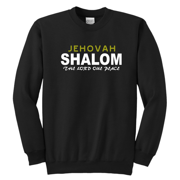 Jehovah Shalom — The Lord our Peace Youth Crewneck Sweatshirt