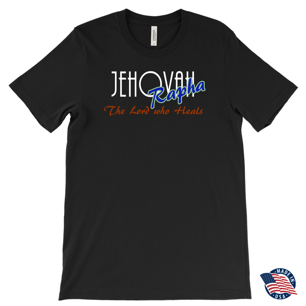 Jehovah Rapha — The Lord Who Heals Mens T-Shirt