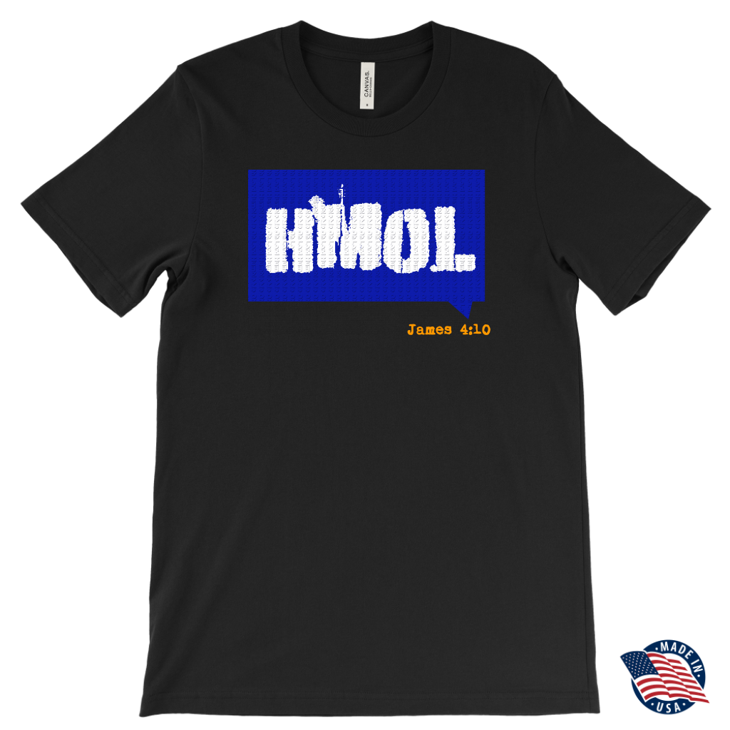 Humble Me Oh Lord — James 4:10 Mens T-Shirt