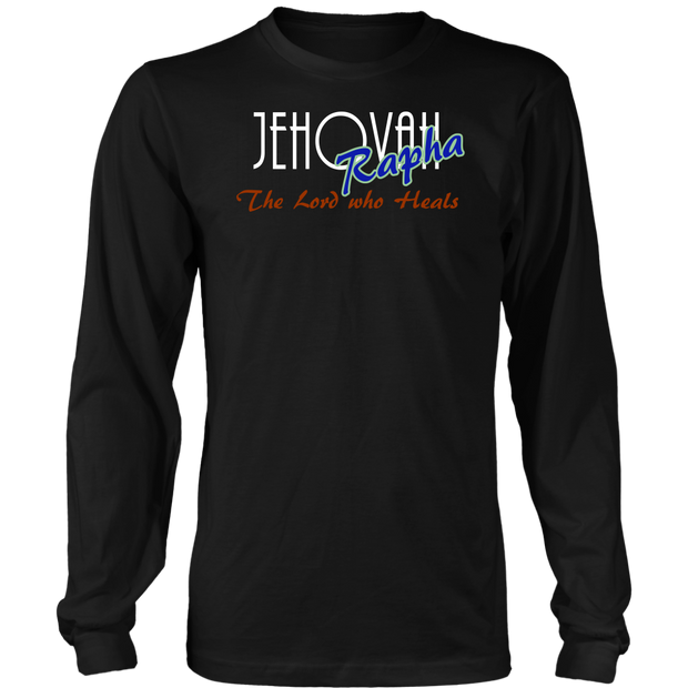 Jehovah Rapha — The Lord Who Heals Mens Long Sleeve T-Shirt