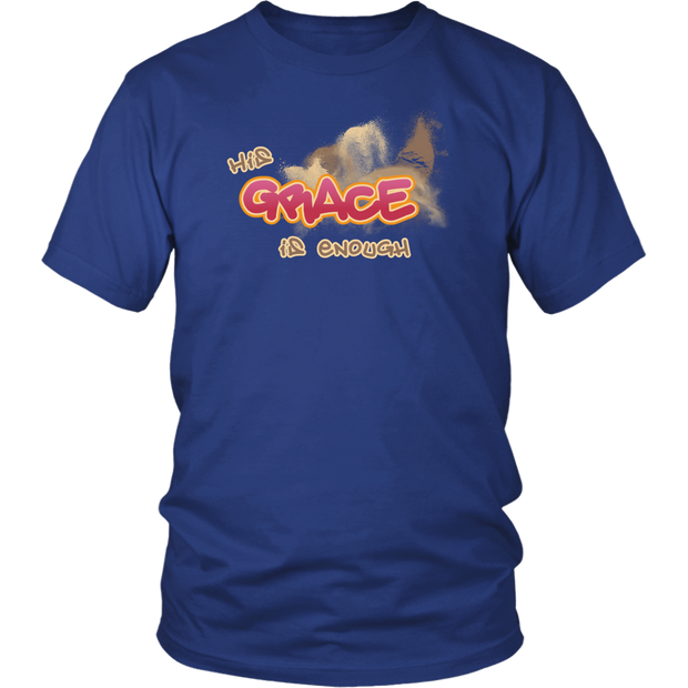 HIS Grace is Enough Men's T-Shirt