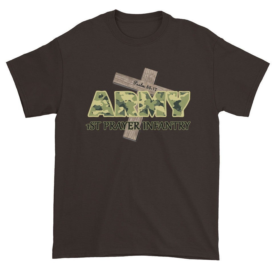 God's Prayer Army — Psalm 55:17 Short sleeve t-shirt