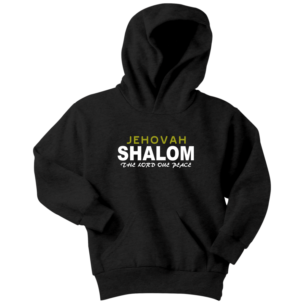 Jehovah Shalom — The Lord our Peace Youth Hoodie