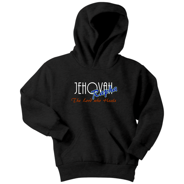 Jahovah Rapha — The Lord Who Heals Youth Hoodie