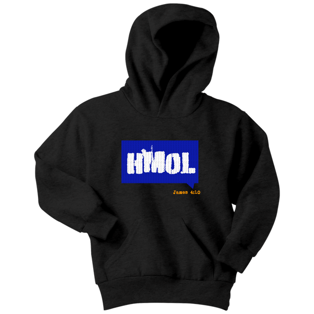 Humble Me Oh Lord — James 4:10 Youth Hoodie