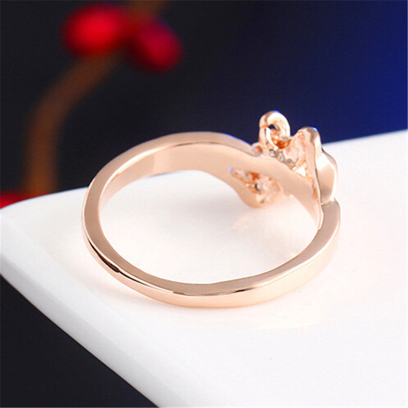 Bow Finger Ring