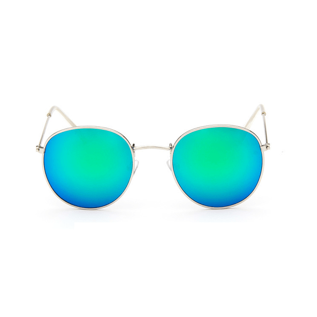 Alloy Mirror Sunglasses