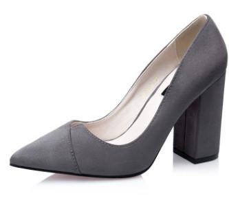 Thick Heeled Pump