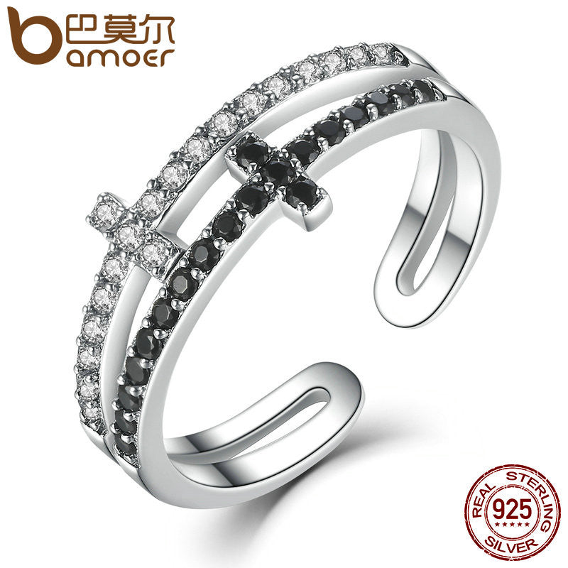 Double Layer Cross Ring