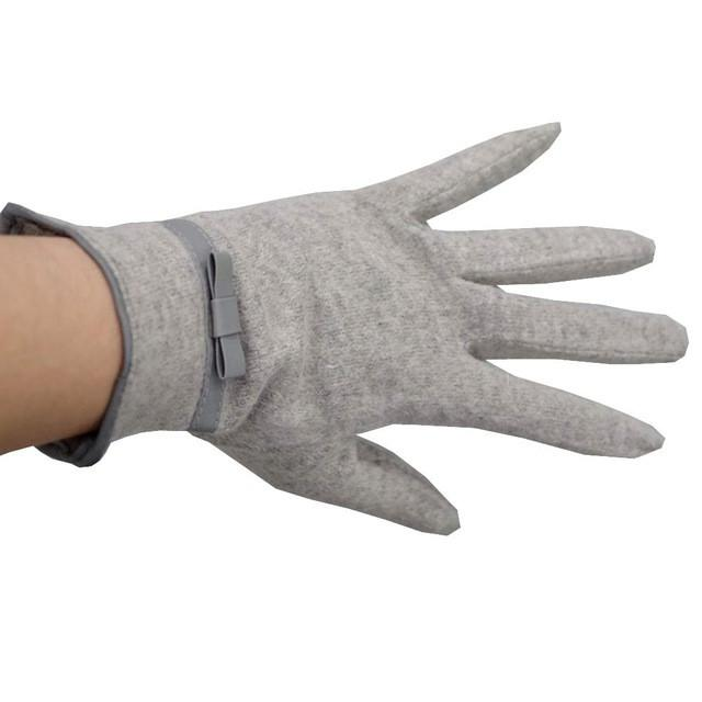 Buckle Soft And Warm Female Gloves